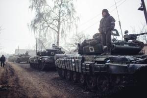 Россия продолжает наращивать количество оружия на Донбассе - разведка