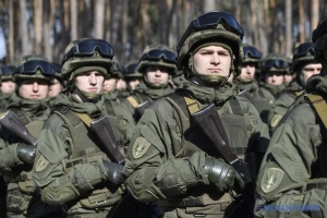 Interior Minister Avakov thanks National Guard soldiers for service
