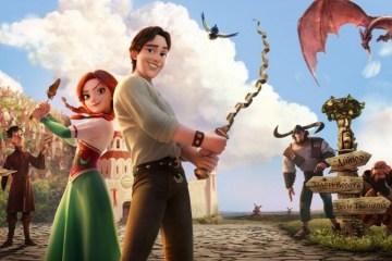 """Animationsfilm """"Die entführte Prinzessin"""" kommt ins Kino - Video"""