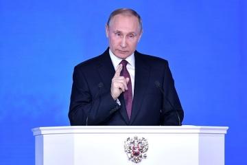 Putin: Wenn die Ukraine Polizei im Abzugsraum stationieren wird, werden Freischärler dasselbe tun