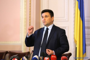 Klimkin calls on the West to put more pressure on Russia