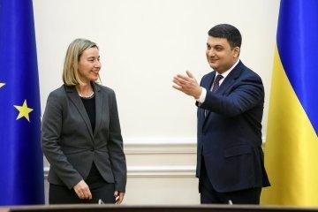 Groysman invites Mogherini to attend conference on Ukrainian reforms in Copenhagen