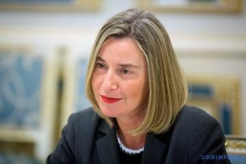 Mogherini: Ucrania ha cambiado y se ha fortalecido en los últimos cinco años