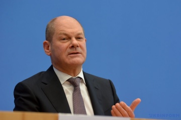 German Chancellor candidate Scholz: Ukraine must remain gas transit country
