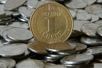 Amtlicher Wechselkurs: Hrywnja verliert etwas an Wert