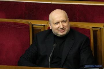 """Turtschynow wird Stabschef der Partei """"Europäische Solidarität"""""""