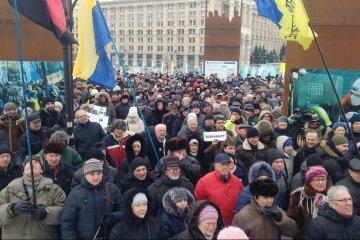 Révolution de la dignité: il y a cinq ans, des milliers de personnes se sont rassemblées à Kyiv