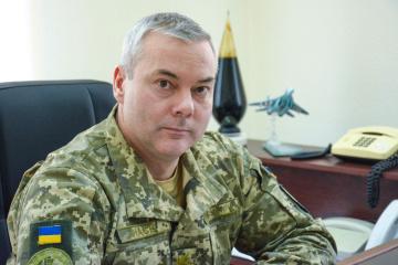 Nayev nombrado comandante de las Fuerzas Conjuntas de Ucrania