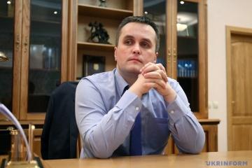 ホロドニツィキー特別汚職対策検察長、ナシーロフ氏との裁判継続を明言