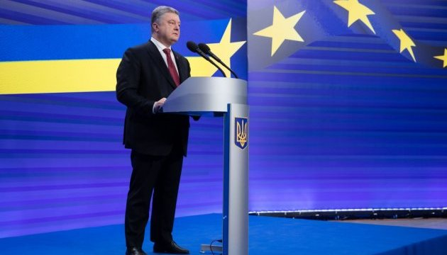 Poroshenko: Fuerza de paz en el Donbás es la única oportunidad para detener el asesinato de los ucranianos
