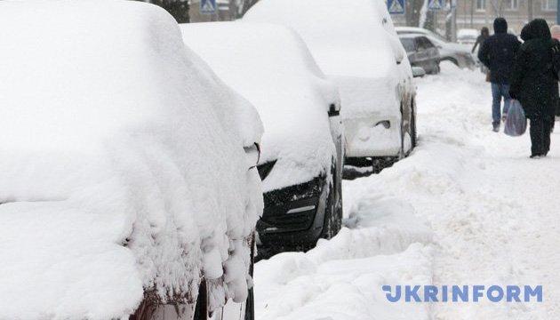Украину будет засыпать снегом и в субботу. Но не везде