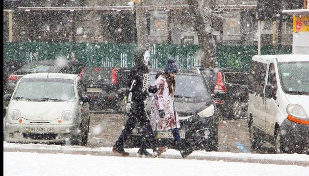 Ein Tief bringt am Wochenende Unwetter in die Ukraine