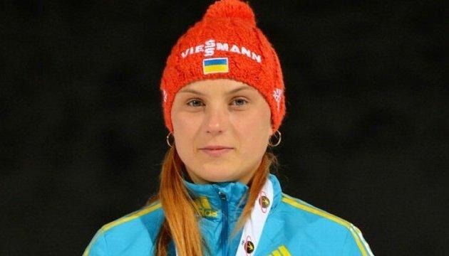 Біатлон: Українка Кривонос виборола «срібло» на юніорському чемпіонаті світу