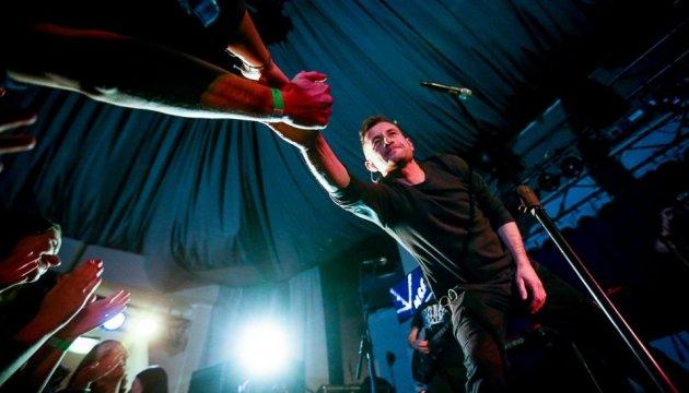 Жадан дал концерт в Запорожье и провел автограф-сессию