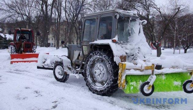 Снігопад залишив без світла 19 населених пунктів на Волині