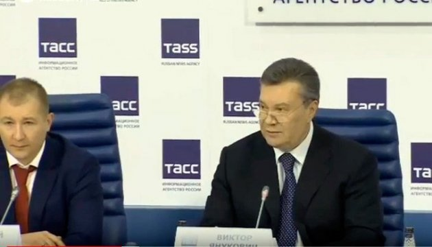 Янукович рассказал об отношениях с Манафортом