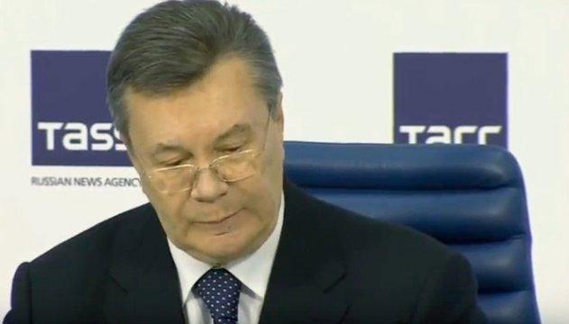 Суд переніс розгляд апеляцій на вирок Януковичу на місяць