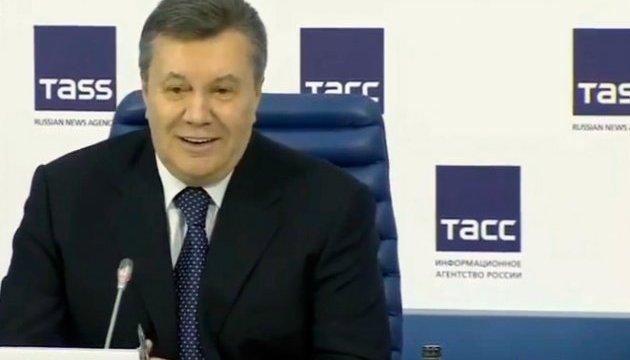 Янукович говорит, что за четыре года встречался с Путиным