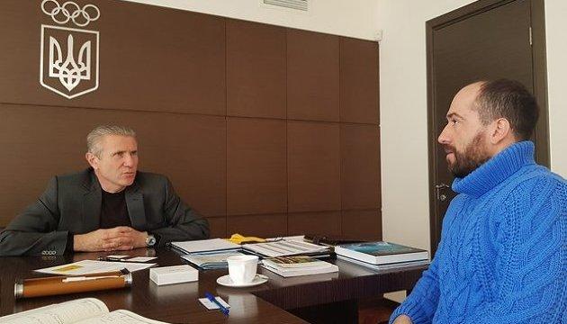 Бубка и Аблаев обсудили пути дальнейшего развития фристайла в Украине