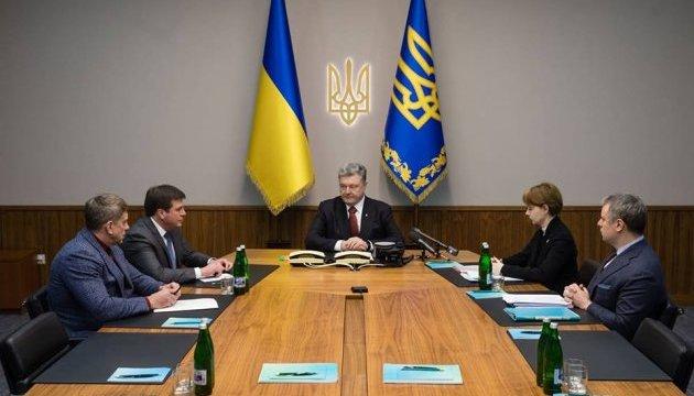 Газовий конфлікт: Порошенко пригрозив Газпрому новим позовом у Стокгольм