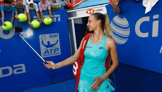 Леся Цуренко: Очень нравится турнир в Акапулько