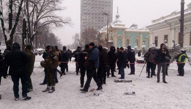 Поліція: під Радою постраждали шестеро мітингувальників та четверо копів