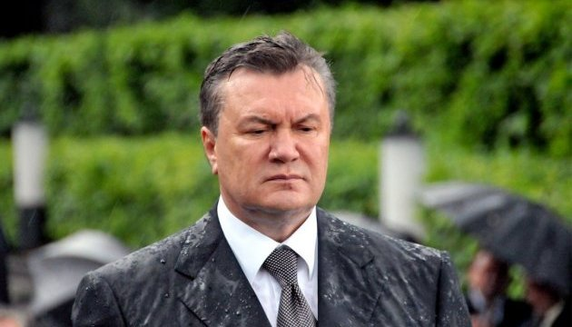 Yanukovych complains he is not allowed to participate in trial on his treason