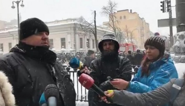 Крищенко розповів, у яких справах проводять слідчі дії під Радою