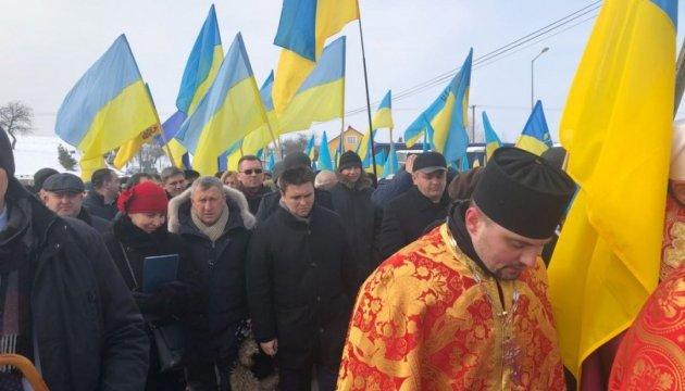 У Польщі вшановують пам'ять українців, розстріляних у 1945 році