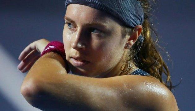 Швейцарская теннисистка Фёгеле: Обыграть Цуренко в финале будет очень трудно