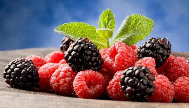 Ukrainian raspberry, blackberry export revenues drop