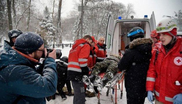 После столкновений под Радой 11 человек попали в больницу - активисты