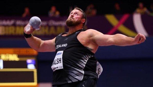 Зимовий ЧС з легкої атлетики: Томас Волш з рекордом переміг у штовханні ядра