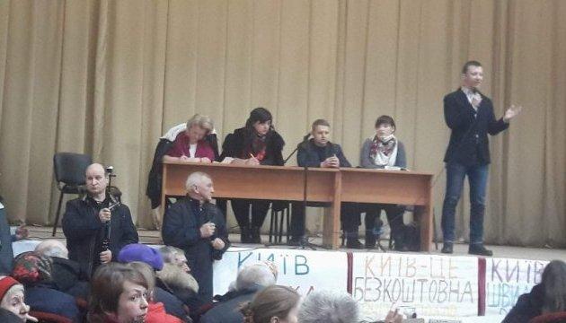 Жители Коцюбинского решали, присоединяться к Киеву,  или к Ирпеню