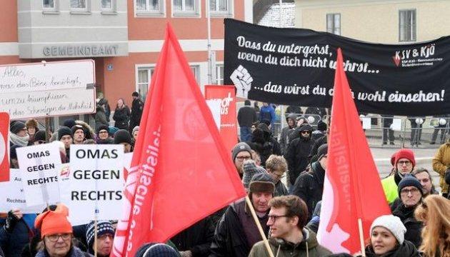 В Германии и Австрии проходят правые марши