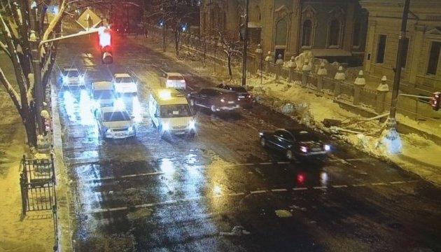 Улица Грушевского в Киеве открыта для проезда