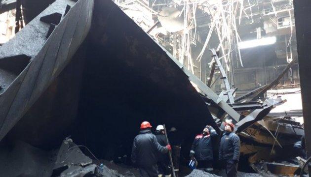 В Кривом Роге под завалами нашли тело работника завода