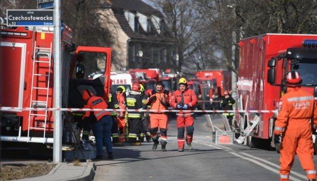 Вибух газу в Польщі: кількість загиблих зросла до чотирьох осіб