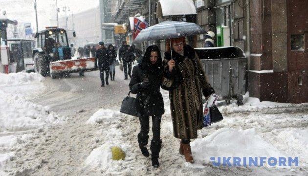 Циклон в Україні: товщина снігу сягне 25 сантиметрів