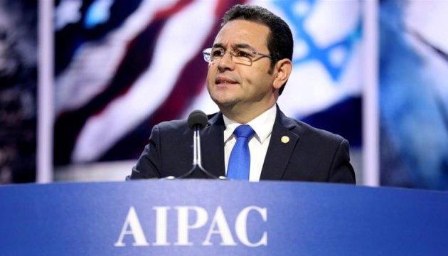 Президент Гватемали анонсував перенесення посольства до Єрусалима у травні