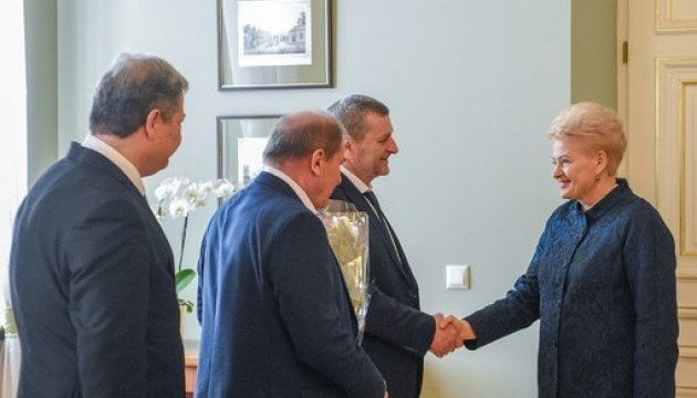 Чийгоз і Умеров зустрілися з президентом Литви