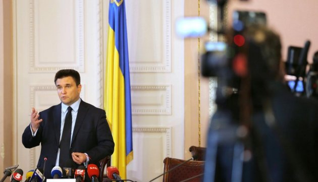 Foreign Minister Klimkin: G7 countries support Ukraine's stance on peacekeepers in Donbas