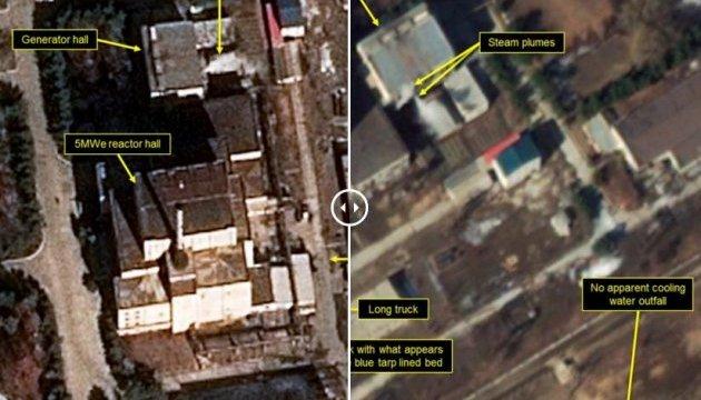 Спутники зафиксировали активность на одном из ядерных реакторов в КНДР