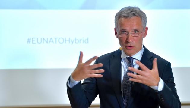 Столтенберг розповів про допомогу Україні на шляху до НАТО