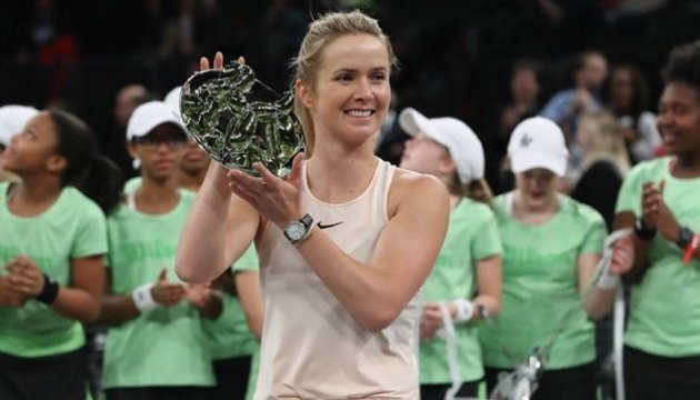 Elina Svitolina gewinnt Tie Break Tens in New York