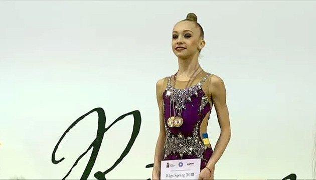 Украинские грации завоевали 5 золотых наград на Международном турнире юниорок в Риге