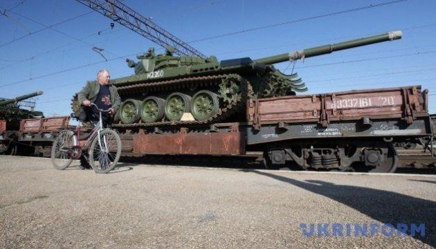 Waffenlieferung: Russland schickt Zug mit Waffen in Ostukraine