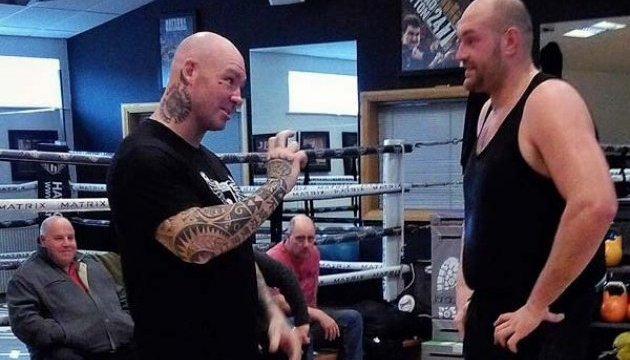 Бокс: Тайсон Ф'юрі провів спаринг із Лукасом Брауном