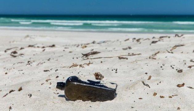 Австралійці знайшли найстаріше в світі послання в пляшці
