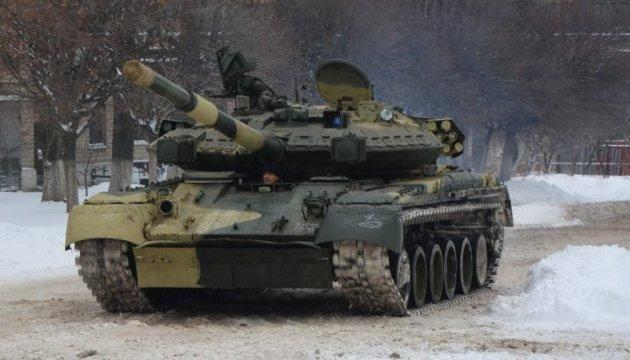Українські танки й БТРи прибули до Німеччини на навчання
